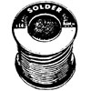 ACID CORE SOLDER 1 LB ROLL(13483)