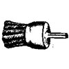 END BRUSH HOLLOW END KNOT TYPE 1-1/8 X 7/8(14378)