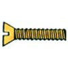 SLOTTED FLAT HEAD BRASS MACHINE SCREW 6-32 X 1/2(450)