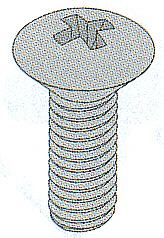 STAINLESS PHILLIPS OVAL HEAD MACHINE SCREWS