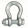 FORGED BOLT TYPE SAFETY SHACKLE 1/4(77855)