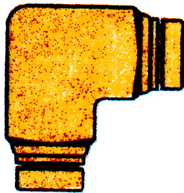 BRASS UNION ELBOW 1/8(9320)