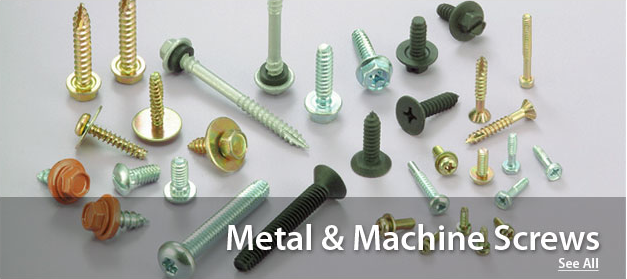 Metal and Machine Screws